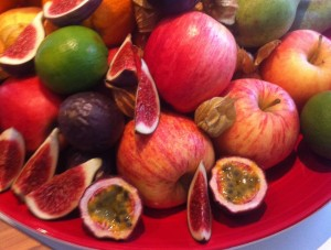 raw frukt